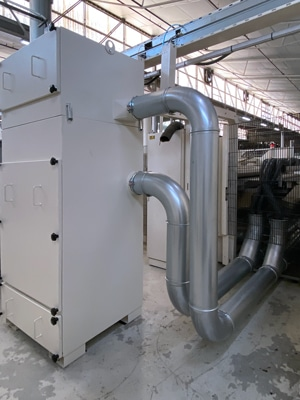 Bahnreiniger für Hinojosa Packaging-Filter-Ventilator-Einheit
